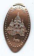 16119 - PIECE ECRASÉE TOURISTIQUE -  LE SACRÉ COEUR - PARIS - Elongated Coins