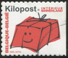 COB  Ki 19 A (o)    Kilopost  Non Dentelé à Droite - Belgio