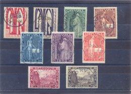 Nrs. 258/266 Prachtig Gestempeld 100 Côte EERSTE ORVAL - Belgium