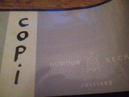 Humour Secret COPI Julliard 1965 - Humour