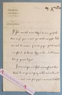L.A.S 1840 Nicolas Martin Du NORD - Magistrat - Garde Des Sceaux - Douai / Château De Lormoy- Lettre Autographe LAS - Autographes