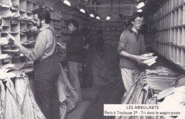 """Lot De 6 Cartes Postales 'Les Ambulants"""" PTT Cartophilie 1982 - Poste & Facteurs"""