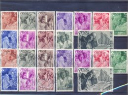 Nrs. 556/567 Postgaaf MNH + Prachtig Gestempeld VIERDE ORVAL - Non Classificati
