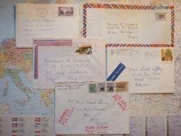 5 Enveloppes  Années 1969-1989 - 1952-.... Règne D'Elizabeth II