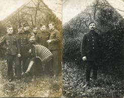 Correspondance De Guerre Camp De Prisonniers Soltau 2 Cartes Photos 2 Scans - Weltkrieg 1914-18