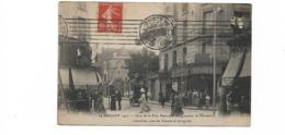14 JUILLET  1912 CLOU DE LA FETE NATIONALR CARREFOUR DE PLAISANCE - District 14