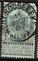 53  Obl Relais  West-Roosbeke  + 50  Coin !! - 1893-1907 Coat Of Arms