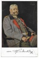 General Von Hindenburg  - WWI - Personen