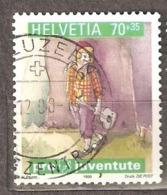 Switzerland: Pro Juventute, 1 Used Stamps From A Set, Children Dreams, 1999, Mi#1702 - Pro Juventute