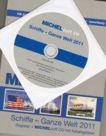 CD Schiffe Der Welt A-Z 2011 Neu 50€ Boote Schiff-Motive Register Mit Soft 29000 Stamps Topic Ship Of All The World - Software