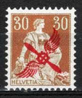 Svizzera 1919Posta Aerea Unif.A1 */MVLH VF/F - Unused Stamps