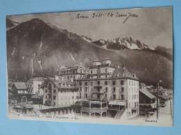 CHAMONIX MONT BLANC -- Hôtel D'Angleterre - Chamonix-Mont-Blanc