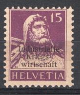 Svizzera 1918 Servizio Unif.5 */MH VF - Servizio