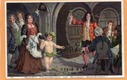 Postdamfer Konig Albert Advertising 2nd Juni 1909 Postcard - Paquebots