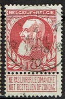 74  Obl Relais   Wonck   + 15 - 1905 Thick Beard