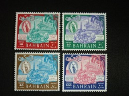 BAHRAIN, 1966 6th  Bahrain Trade  Fair & Agriculture Show Scott # 153-156 MNH Cv. 16,95$ - Bahrain (...-1965)