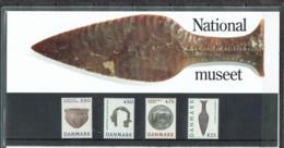 Denmark 1992. National Museum, Copenhagen. Michel 1018-21. Souvenir Folder MNH. - Nuovi