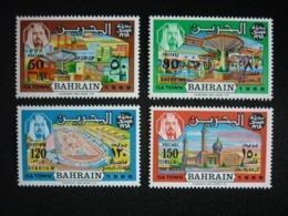 BAHRAIN, 1968 Isa Town Scott # 160-163 MNH Cv. 47,00$ - Bahrain (...-1965)