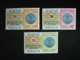 BAHRAIN, 1969 50th  Anniversary Of Education In Bahrain Scott # 164-166 MNH Cv. 15,15$ - Bahrain (...-1965)