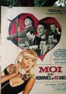 """Affiche Pliée """"Moi Et Les Hommes De 40ans"""" Dany Saval, Paul Meurice, Michel Serrault...120x160  - TTB - Affiches"""