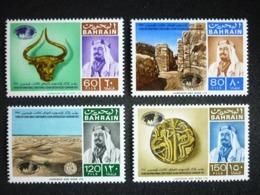 BAHRAIN, 1970 3rd  International  Asian Archaeological Conference Bahrain. Scott # 173-176 MNH Cv. 41,00$ - Bahrain (...-1965)