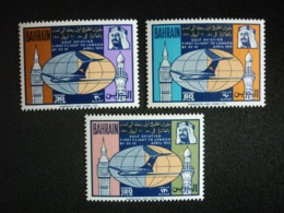 BAHRAIN, 1970 1st Flight To London From The Arabian  Gulf Scott # 177-179 MNH Cv. 32,00$ - Bahrain (...-1965)