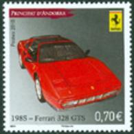 ANDORRE FRANCAIS  - 2010 - Voitures - Ferrari - 1 V. - French Andorra