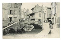 CPA 63 BILLOM QUARTIER PITTORESQUE SUR LE RUISSEAU D'ANGOD - France