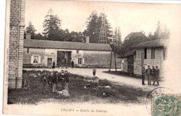 10: CRESPY  Entree Du Chateau Animee - Andere Gemeenten