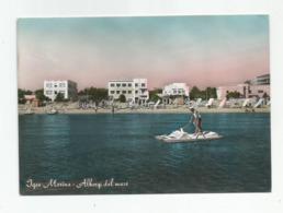 Italie Italia Italy Rimini Igea Marina Hotels Vue De La Mer - Rimini