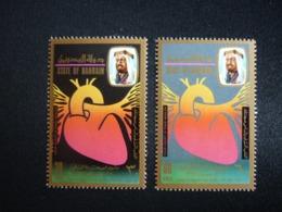 BAHRAIN, 1972 World  Health  Day Scott # 190-191 MNH Cv. 19,00$ - Bahrain (...-1965)
