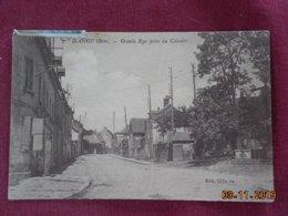 CPA - Dangu - Grande Rue Prise Du Calvaire - Dangu