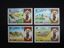 BAHRAIN, 1973 National Day Scott # 196-199 MNH Cv. 19,00$ - Bahrain (...-1965)