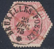 """Télégraphe - TG6 Obl Télégraphique """"Bruxelles (Postes)"""" - Telegraph"""