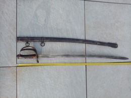 Sabre Reglementaire De Cavalerie Lourde (Italien) - Armas Blancas