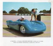 910Cr  Image (17cm X 15cm) Montlhéry Circuit Courses Automobiles Cousy 500cm² Tacot Dr Hollier Larousse - Altri