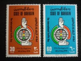 BAHRAIN, 1974 Lnternational Traffic Day Scott # 204-205 MNH Cv. 15,00$ - Bahrain (...-1965)