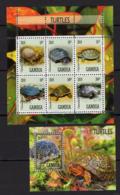 MNH - Turtles - Animals - Fauna - Notched - 2019 - Gambia - Turtles