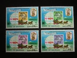 BAHRAIN, 1974 Centenary Of Universal Postal Union Scott # 206-209 MNH Cv. 13,25$ - Bahrain (...-1965)