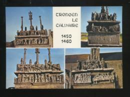 Saint-Jean-Trolimon (29) : Calvaire De Tronoën, Les Faces Est, Nord, Ouest Et Sud - Saint-Jean-Trolimon
