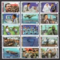 Marshall Islands 2000 Mi 1256-1270 MNH - 20TH CENTURY 1980-1989 - Marshallinseln