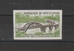 Cote D'Ivoire 1974 Pont PA 62 Neuf ** MNH Non Dentelé - Côte D'Ivoire (1960-...)