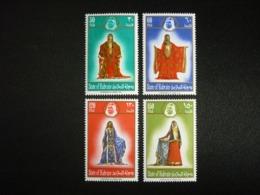 BAHRAIN, 1975 Various  Women's  Costumes Scott # 214-217 MNH Cv. 12,50$ - Bahrein (...-1965)