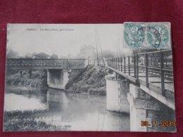 CPA - Dangu - Les Deux Ponts, Près La Gare - Dangu