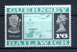1969-70 GUERNSEY N.13 MNH (49°) - Guernesey