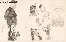 ILLUSTRATEUR FARGES TENUE DE BAINS CHIAVARI PRISONNIERS BELGIQUE CARICATURE MILITAIRE GUERRE PATRIOTIQUE KARICATUR - Guerra 1914-18