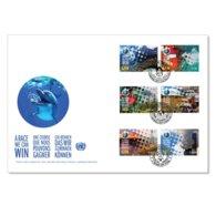 ONU 2019 - Changement De Climat - Climate Change A Race We Can Win FDC - Umweltschutz Und Klima