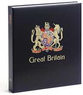 DAVO 4243 Luxus Binder Briefmarkenalbum Großbritannien III - Groß, Grund Schwarz