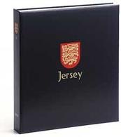 DAVO 4543 Luxus Binder Briefmarkenalbum Jersey III - Groß, Grund Schwarz
