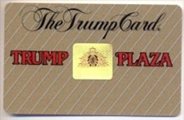 Trump Plaza Casino, Atlantic City, NJ, U.S.A., Older Used Slot Card, Trump-38 - Casino Cards